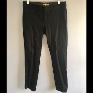 Black Sloan Cut Pants